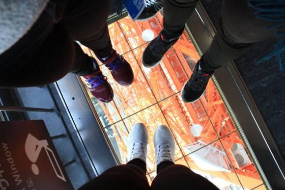 glassgulv Tokyo tower - Hilde