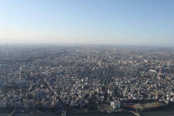 Skytree utsikt (Julie)